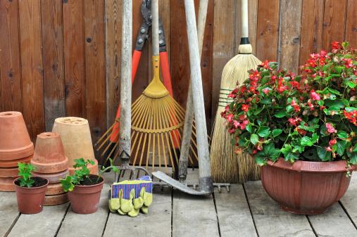 Creative Use for Portable Building, Garden Shed + Cook Portable Warehouses