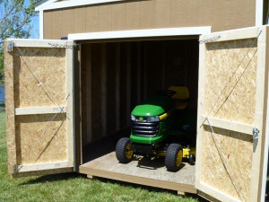 Take Care of your Lawn Mower + Cook Portable Warehouses