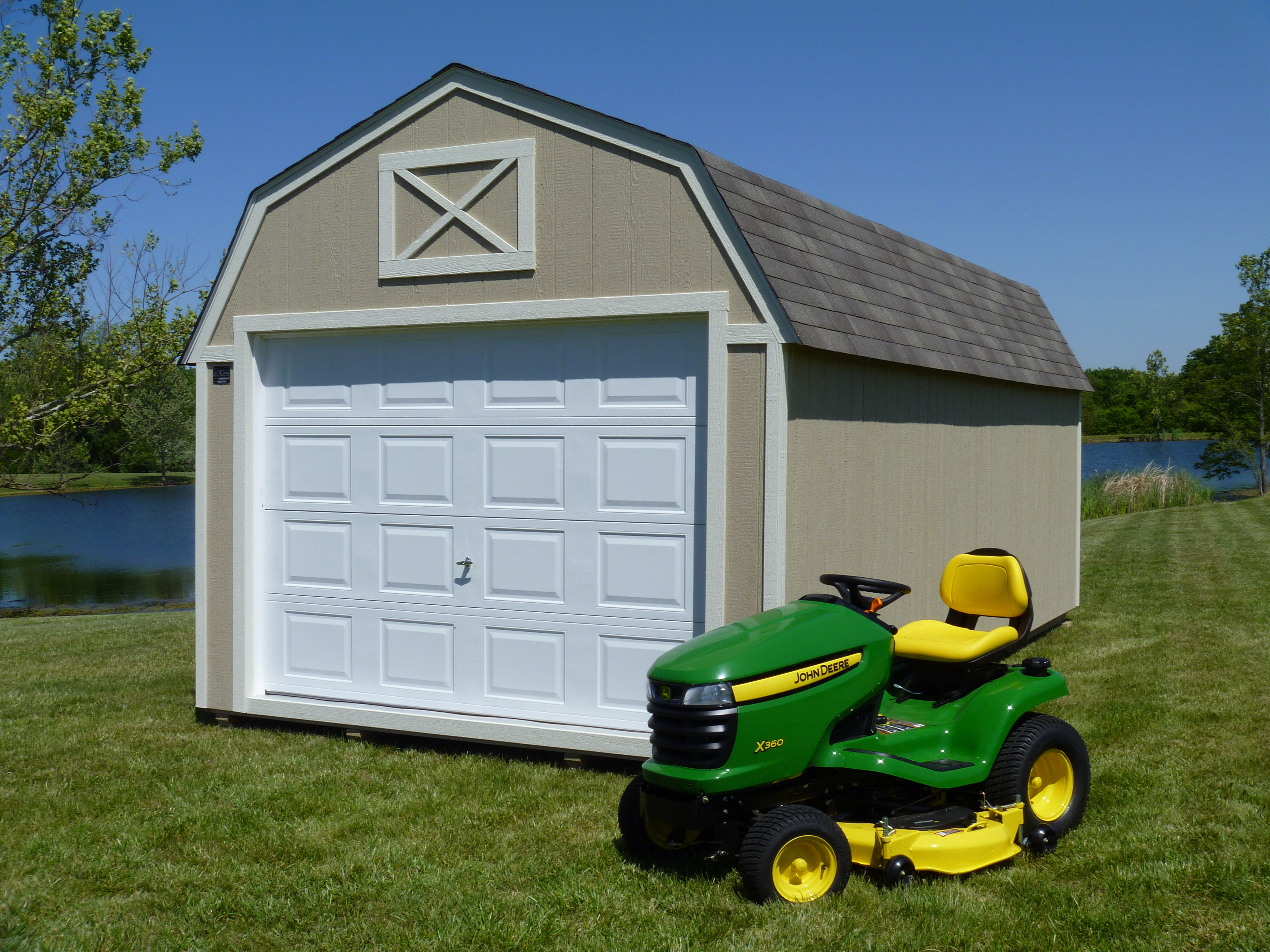self_storage_units_vs_portable_warehouses_Cook_lawnmower_shed
