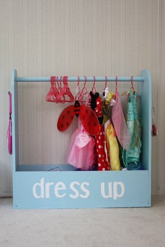 Play Dress Up in Shed Playhouse