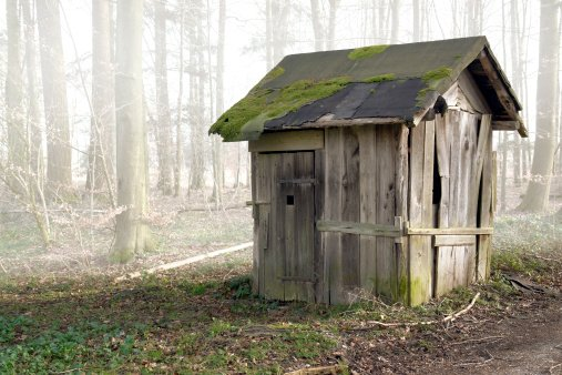 old_dilapidated_storage_shed_increase_home_value_Cook_Portable_Warehouses