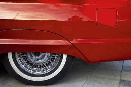 red_classic_car_restoration_tips_backyard_shed_Cook_Portable_Warehouses