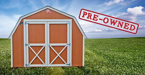 benefits_of_buying_pre-owned_shed_Cook_Portable_Warehouses