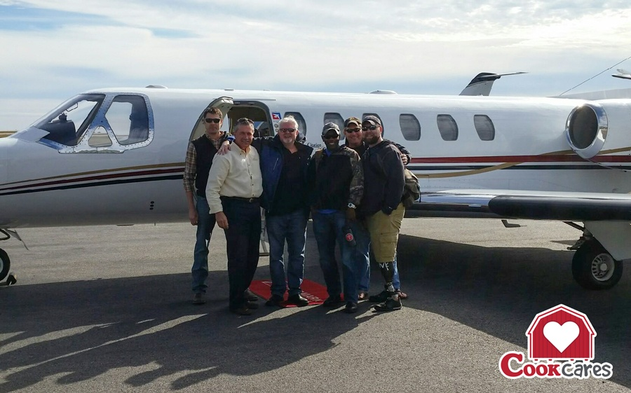 Veteran's_Airlift_Command_Flight_Supports_Wounded_Veterans_and_Worthy_Organization_Cook_Portable_Warehouses