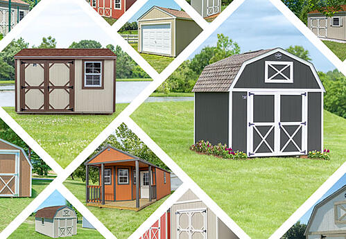 Shed Collage
