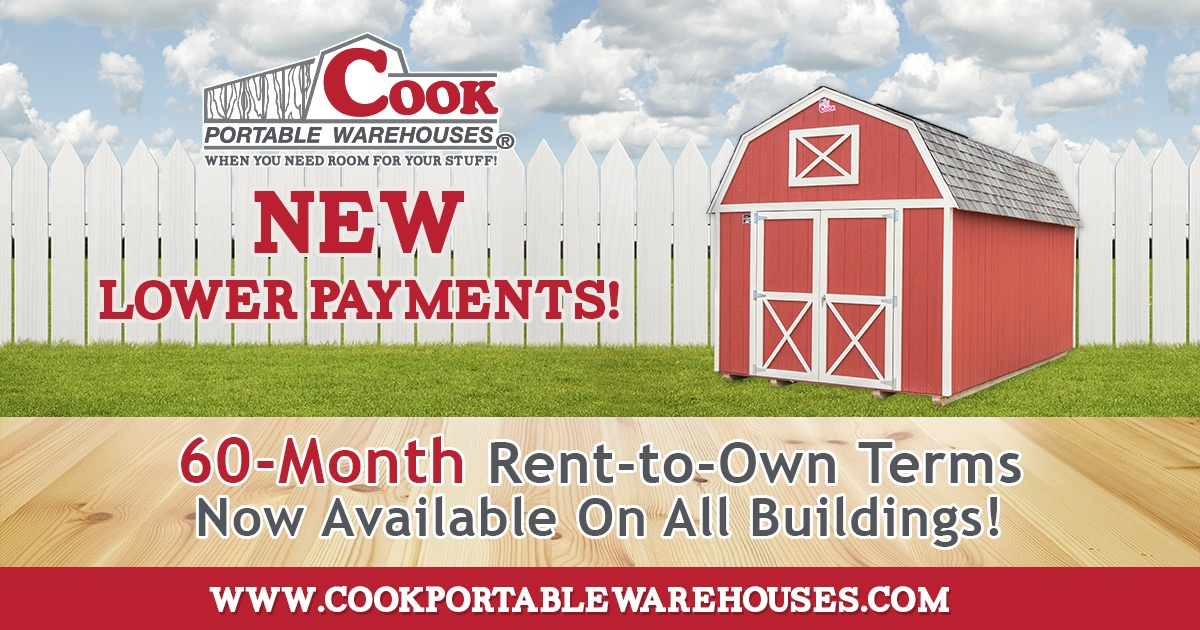 Cook_Offers_New_60 Month_Rent_to_Own_Program_Cook_Portable_Warehouses