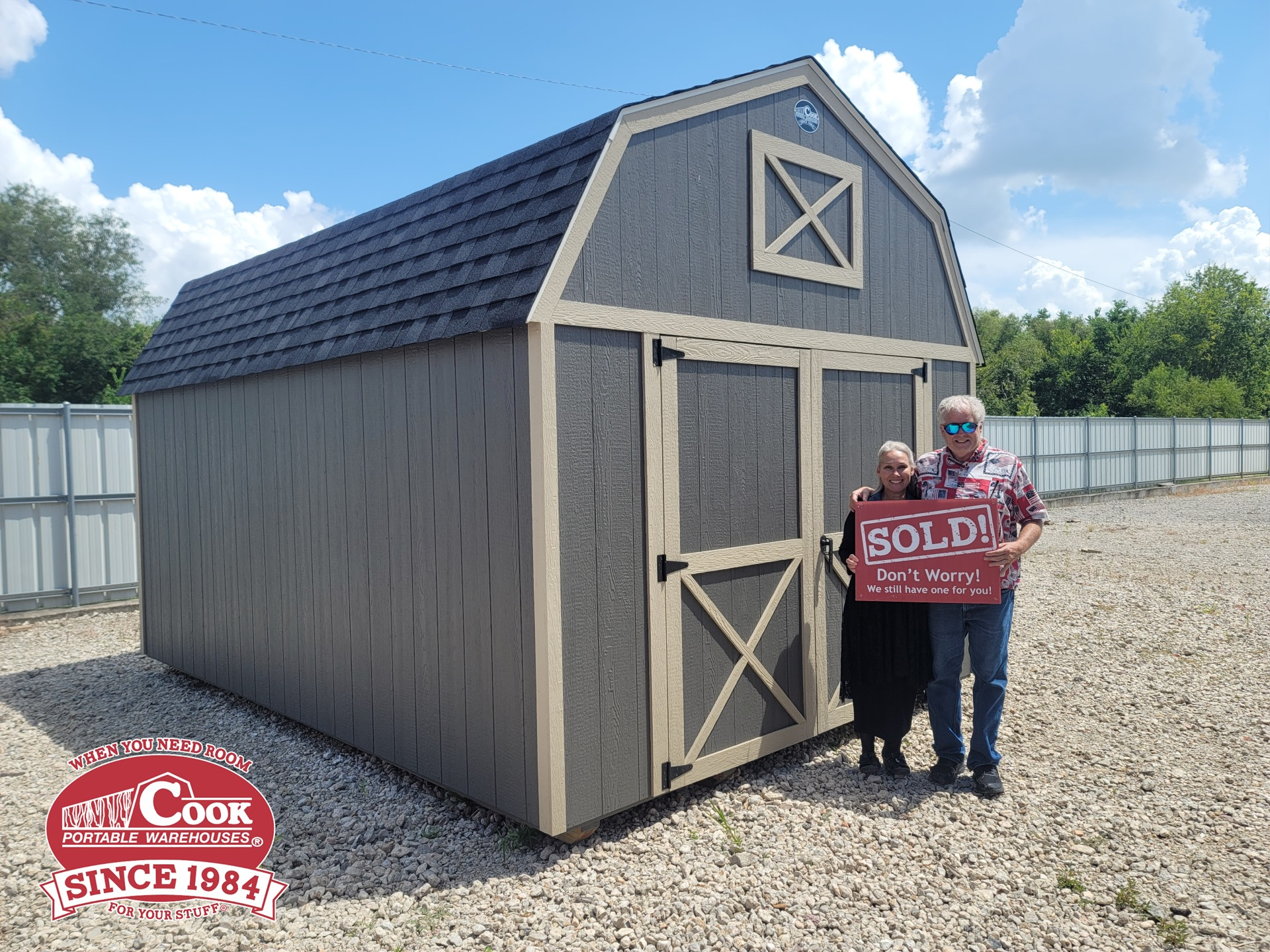 Cook Shed Customers - Lofted Barn