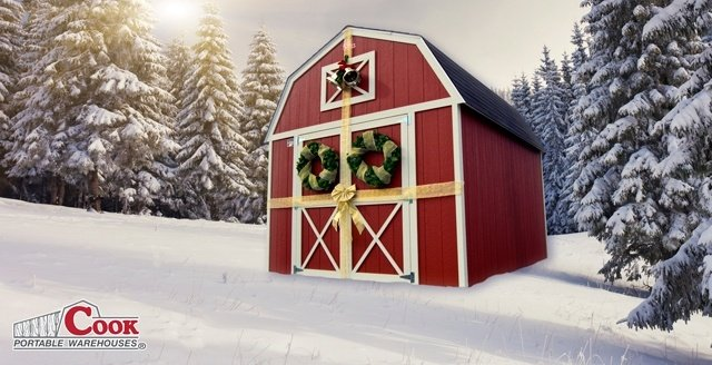 Shed Make a Great Holiday Gift
