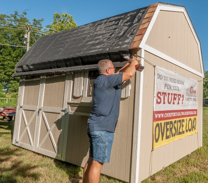 Cook Shed Delivery Process