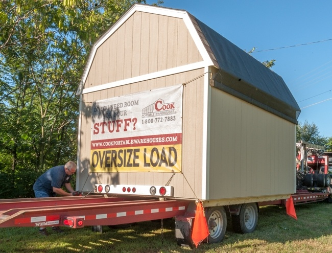 Cook Delivery Trailer