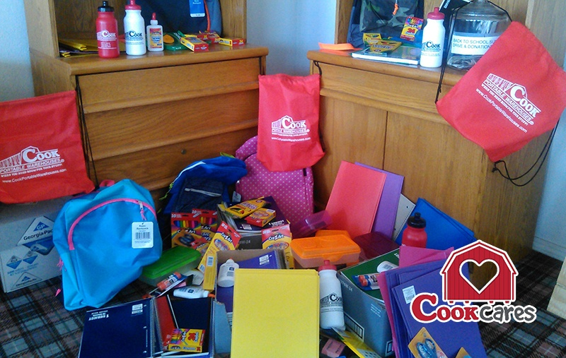 Local_Cook_Dealer_Hosts_School_Supply_Fundraiser_Cook_Portable_Warehouses