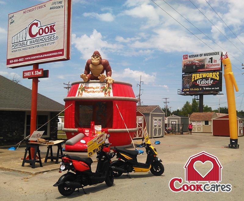 Local_Cook_Dealer_Hosts_School_Supply_Fundraiser_Cook_Portable_Warehouses