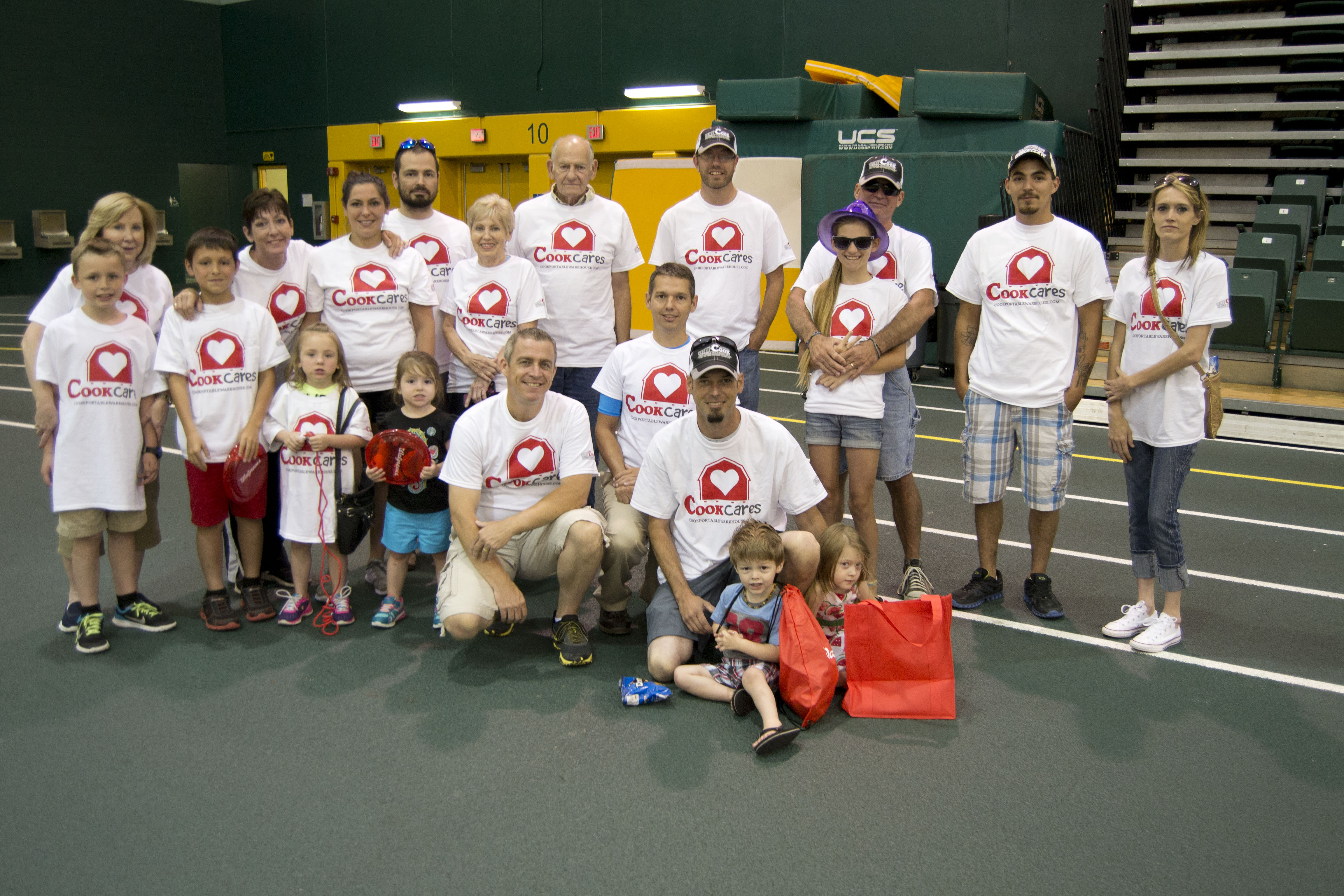 Relay for Life Team from Cook Portable Warehouses