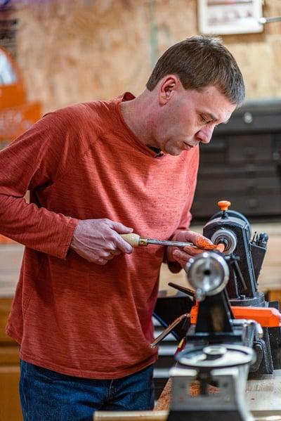 Woodworking Inside Cook Handyman Shed