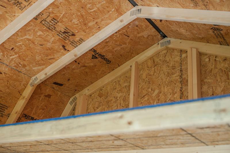 Quality built portable building with loft