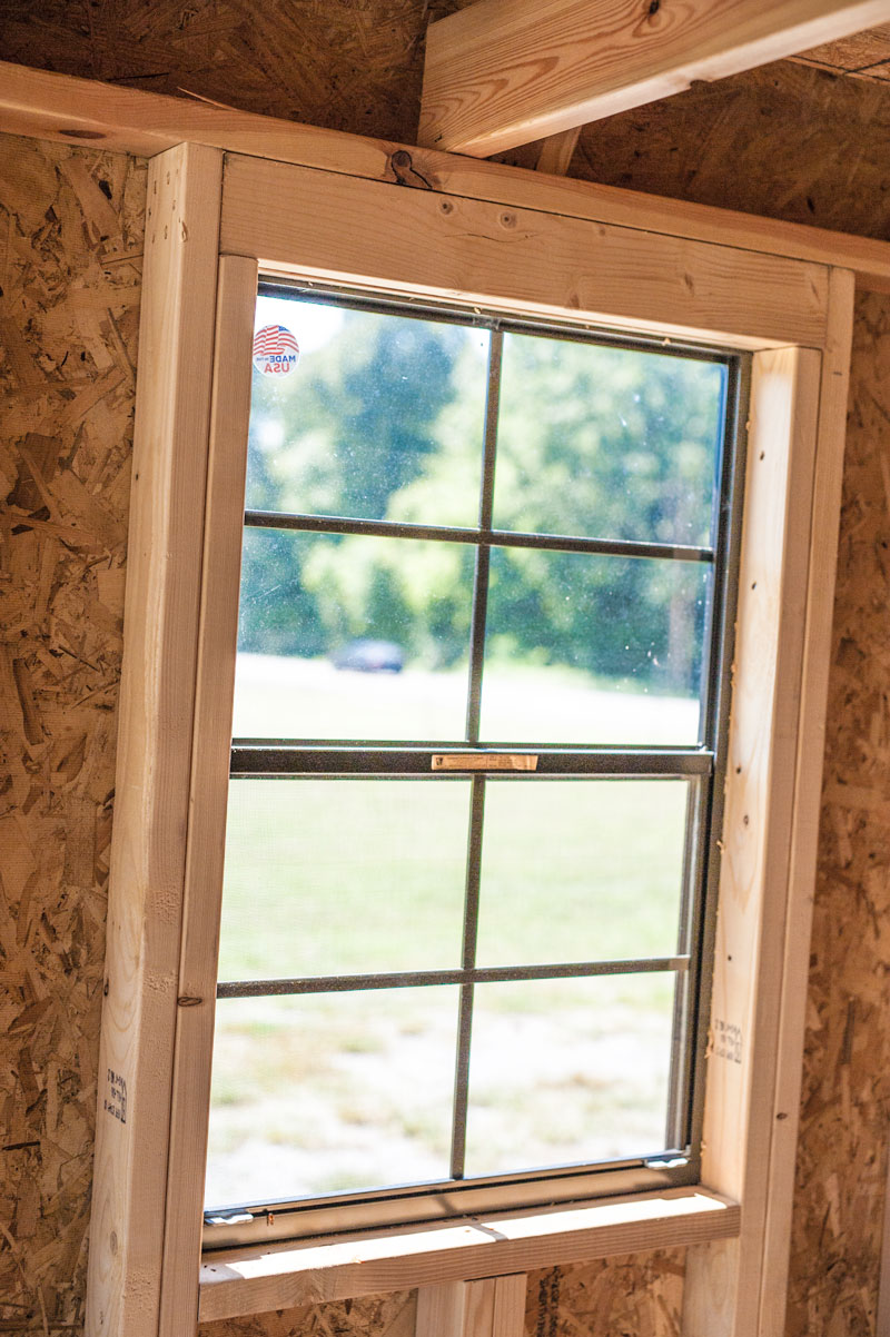 Choosing Your Window Placement in Shed
