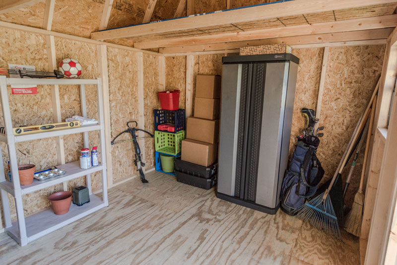 How to organize your shed
