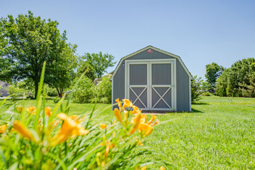 Barn Shed Style in Springtime