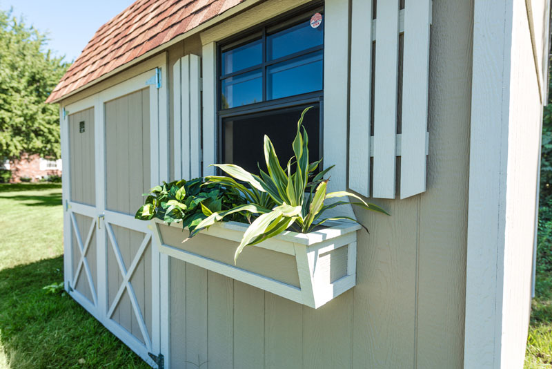 Shed Planters + Cook Portable Warehouses