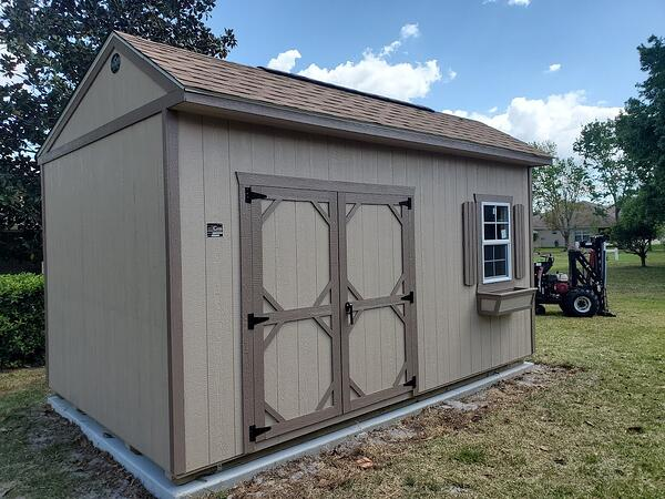 Garden Shed Tall 10X12