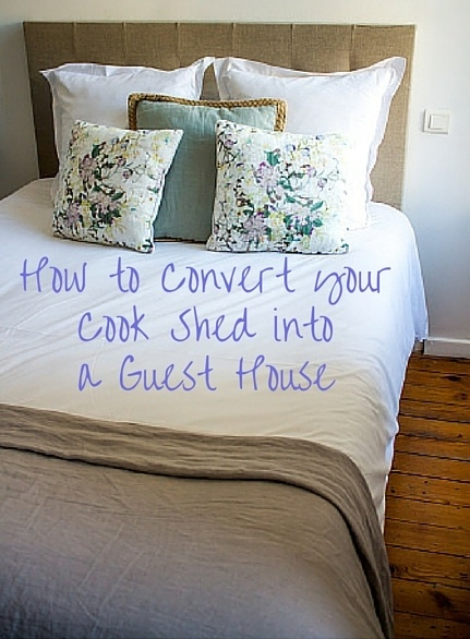 convert shed into a guest house + Cook Portable Warehouses