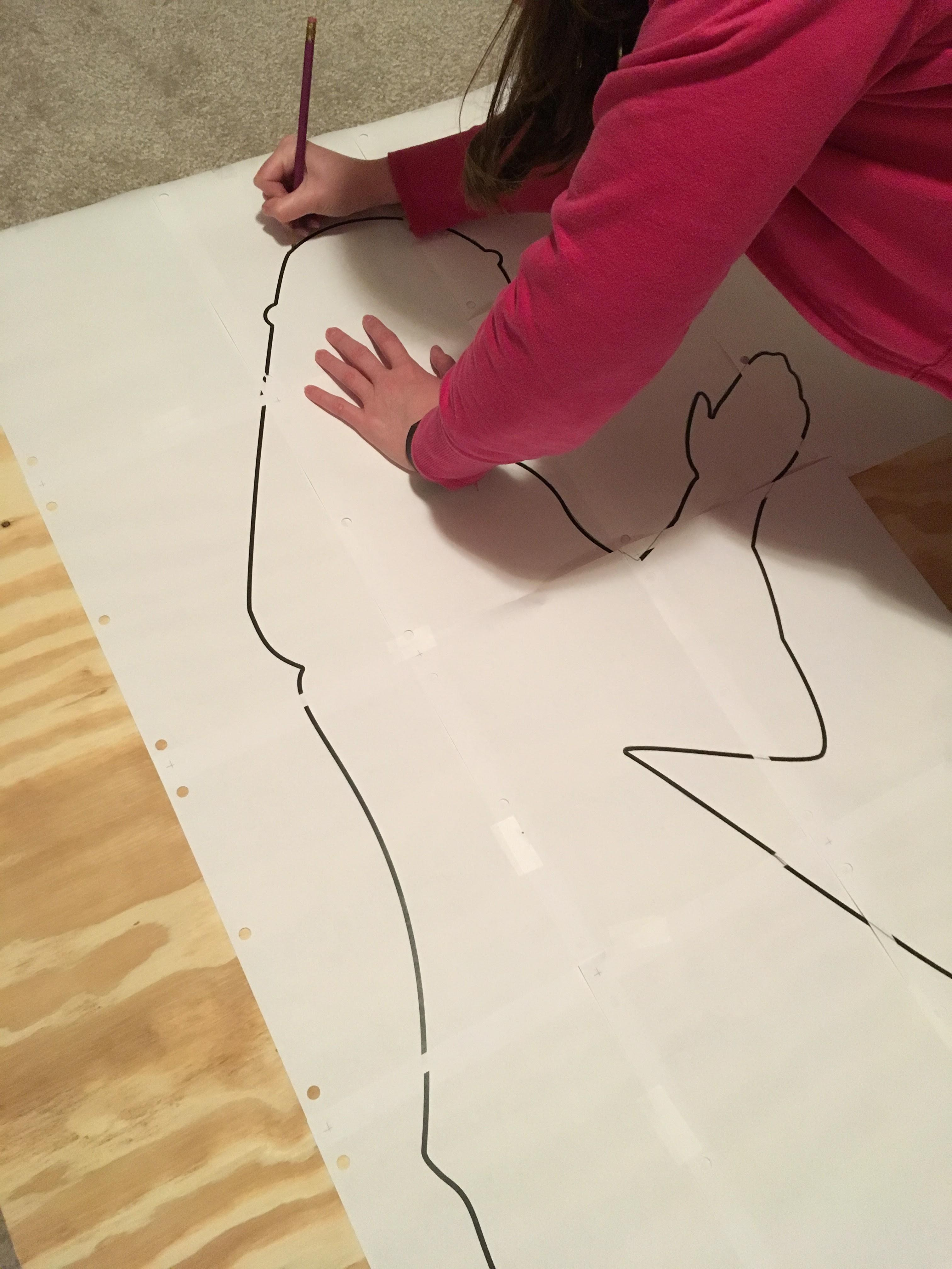 Tracing A Nativity Scene + Cook Portable Warehouses