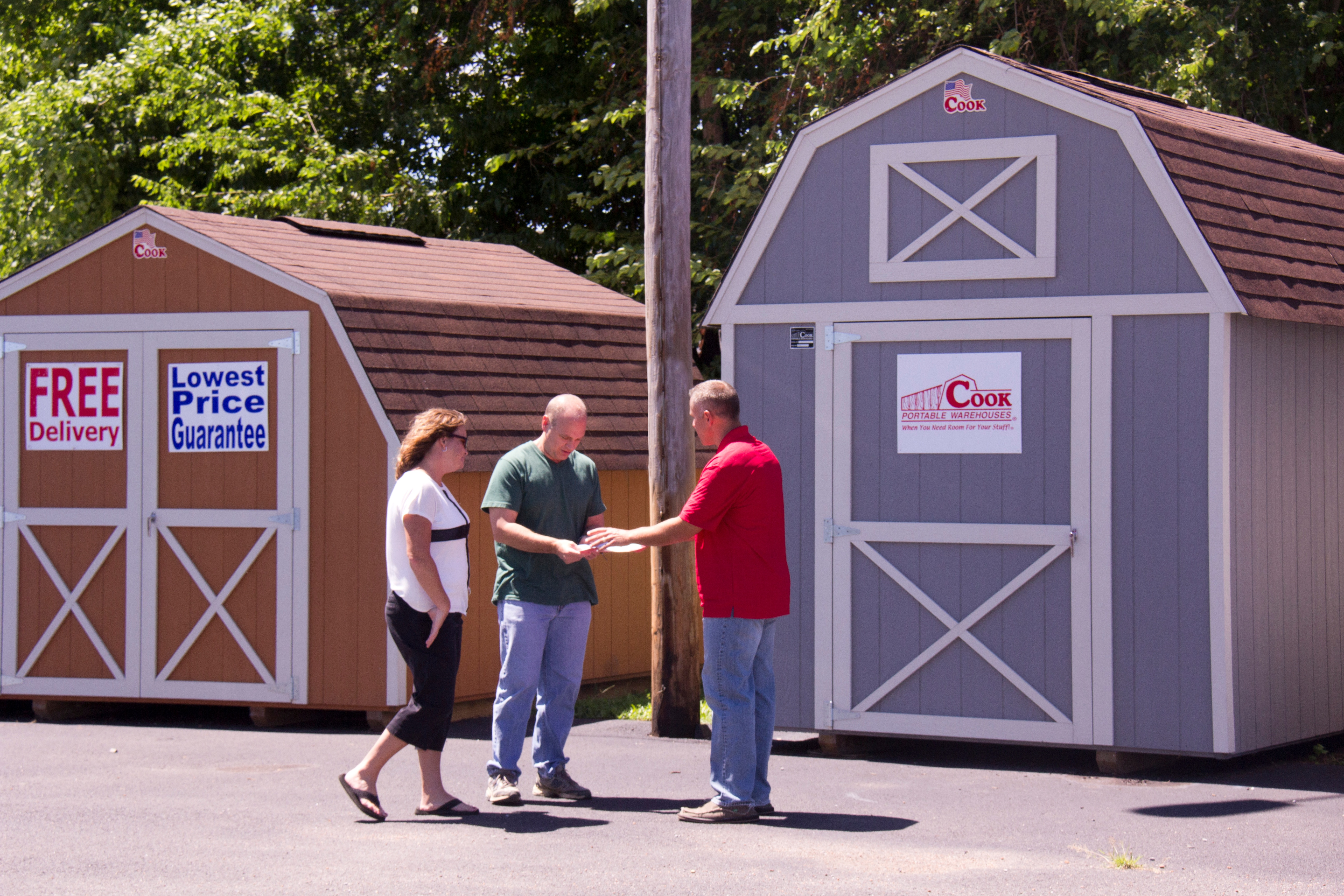 4 Things to Do Before Buying a Shed + Cook Portable Warehouses