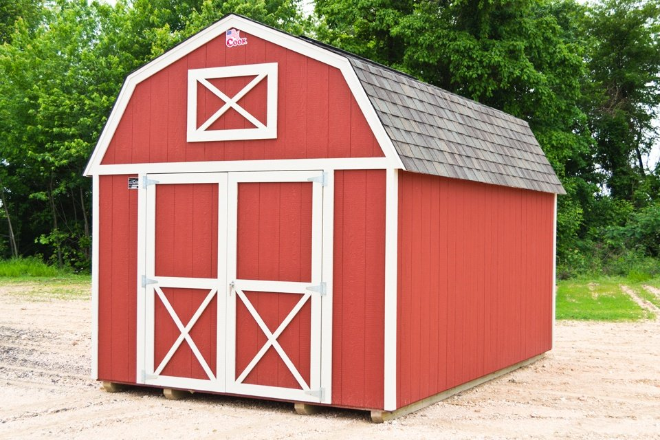 Shopping for Future Shed -- Lofted Barn Cook Portable Warehouses