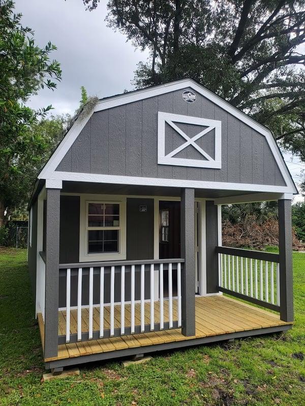 Lofted Cabin 12X32