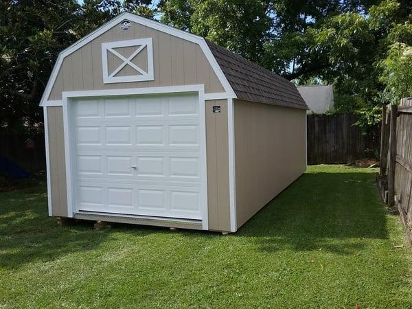 Lofted Garage 12X24