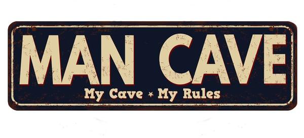 Man-Cave-sign-AdobeStock_145647642