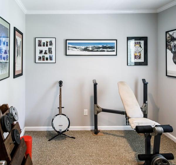 Man-Cave-workout-room-AdobeStock_293598226