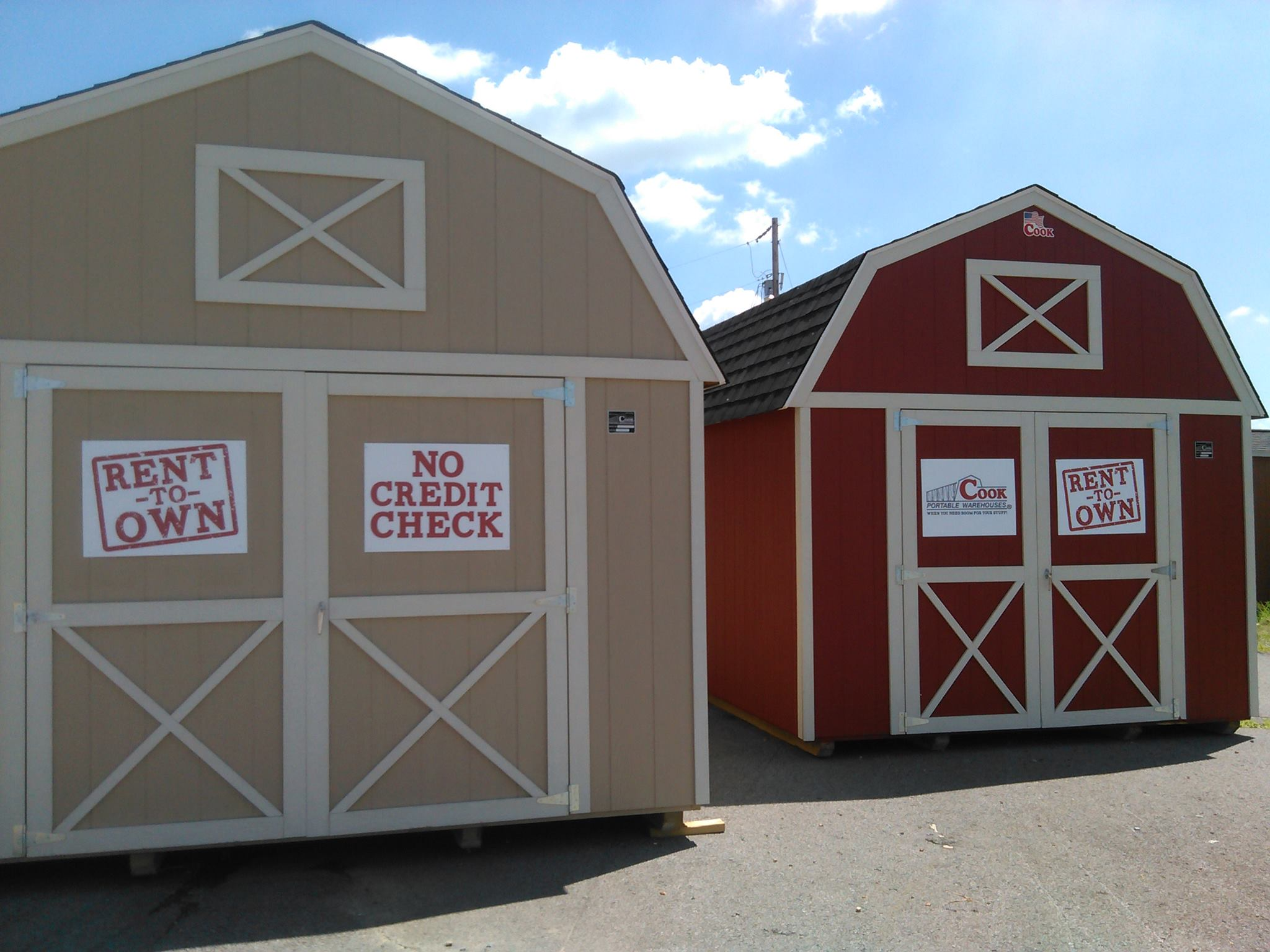 Cook Portable Warehouses, a Good Buy Year Round