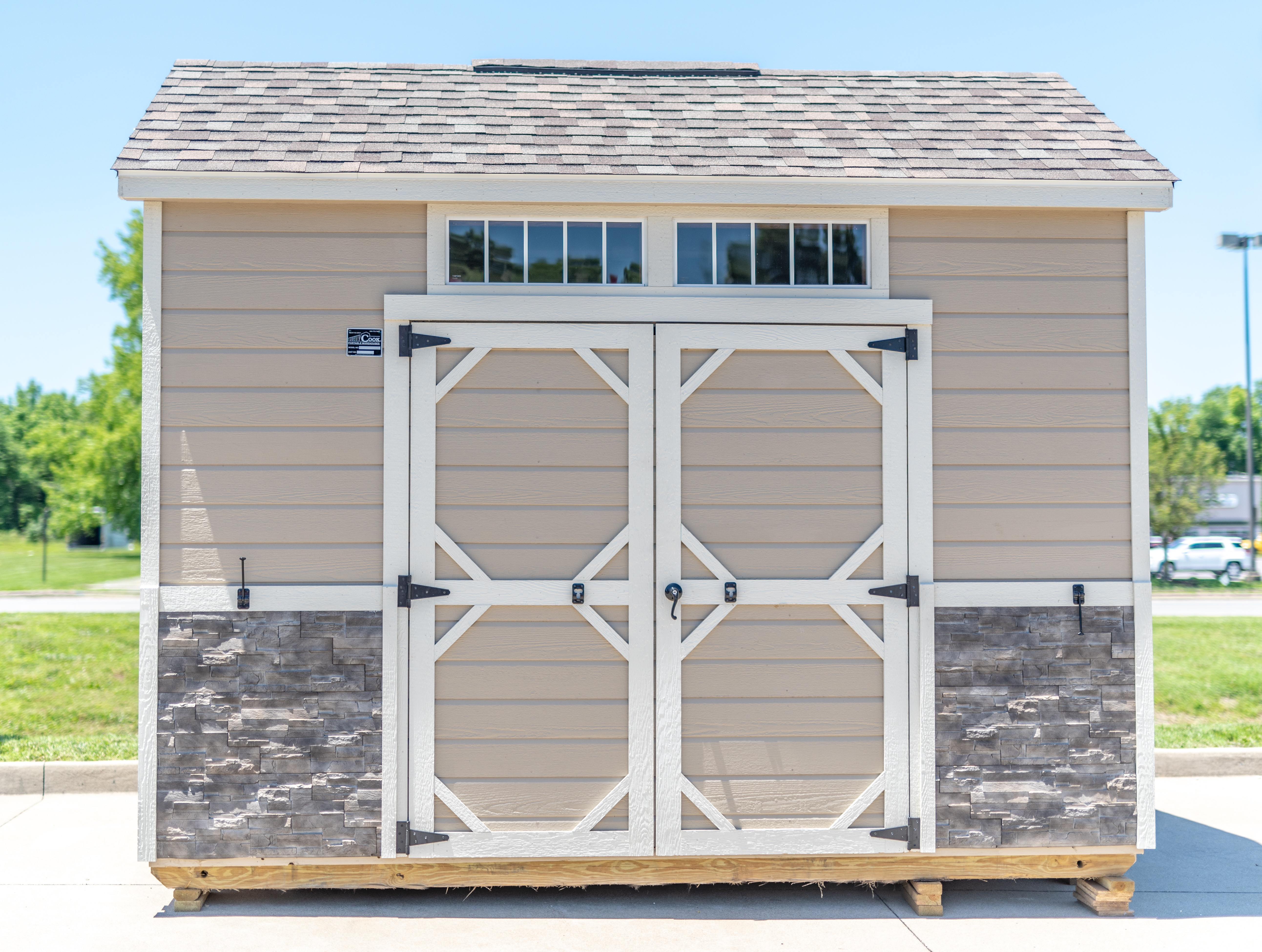 Utility Shed with Premium Features