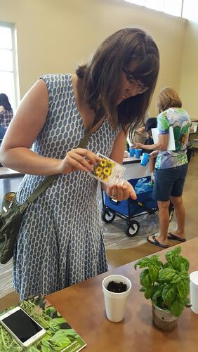 Discovering and Learning about Container Gardening