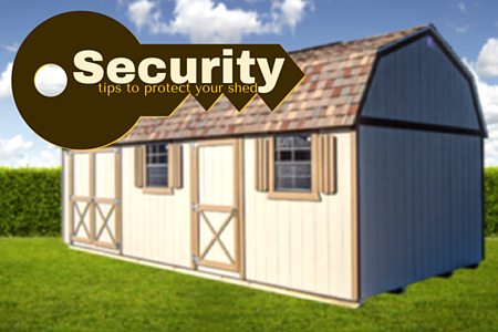 Security Tips for Protecting Your Shed + Cook Portable Buildings