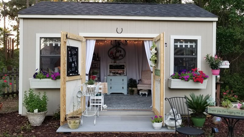 Julie's She Shed