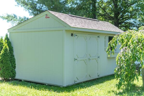Lifetime Warranty on Garden Shed