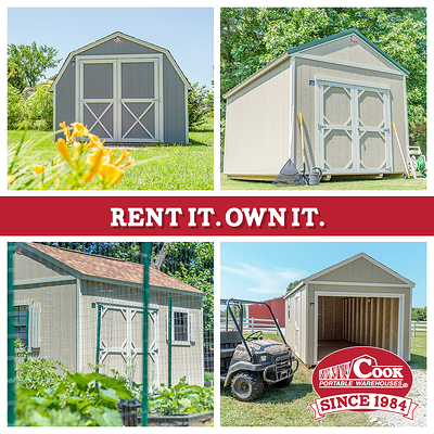 Rent-to-Own Options from Cook Portable Warehouses