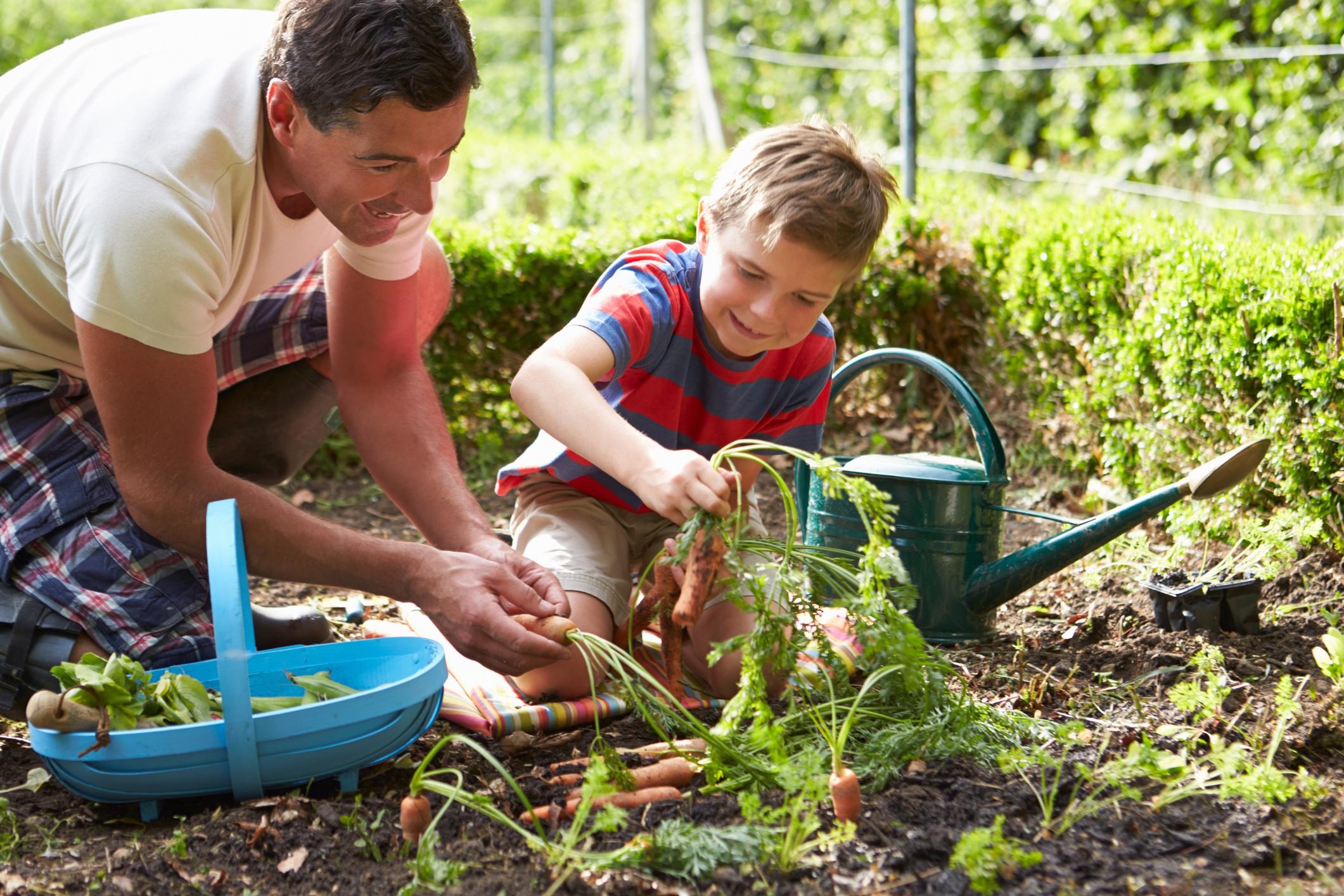 Make Gardening a Family Fun Event + Cook Portable Warehouses
