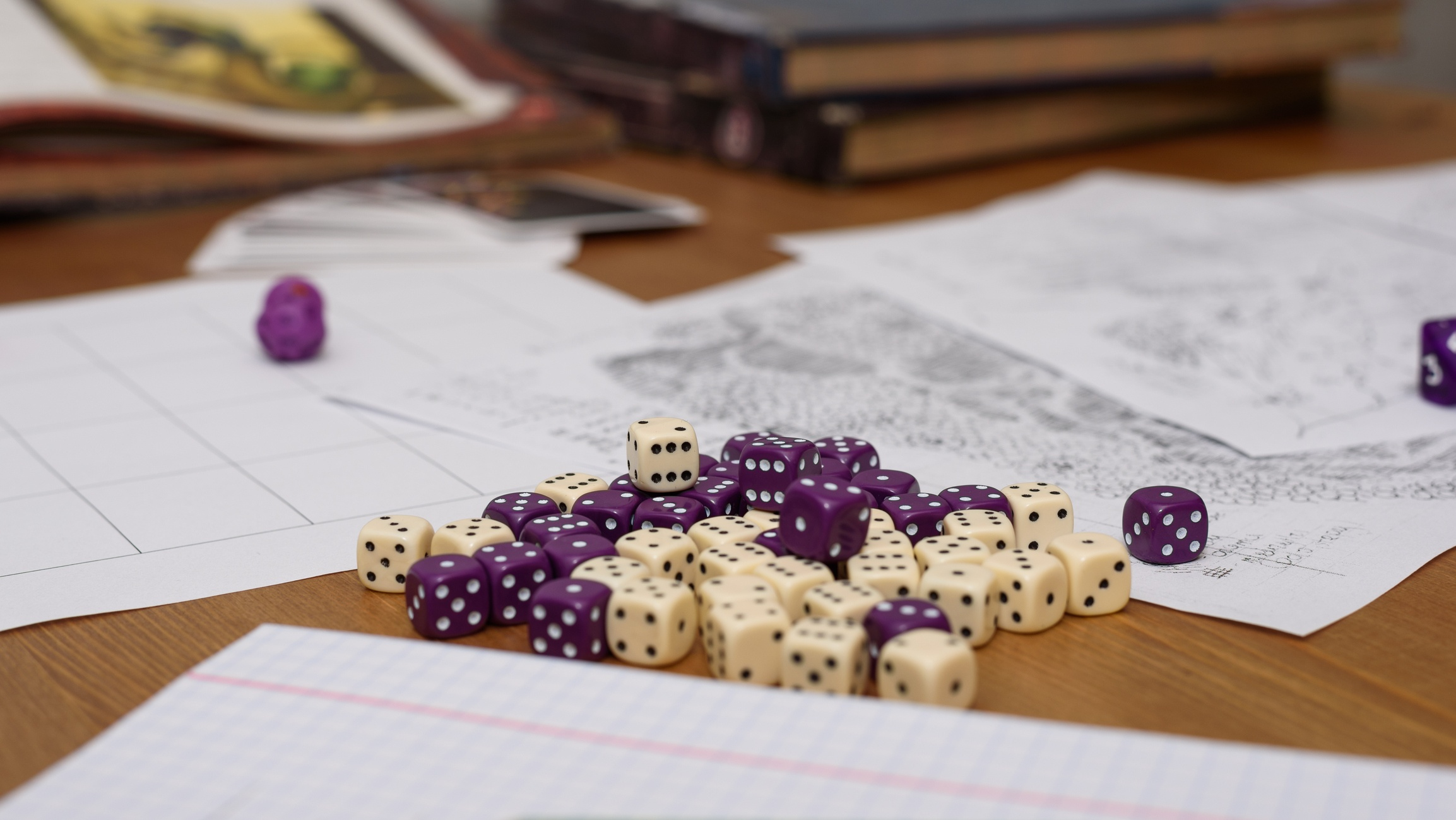 Game Board and Dice