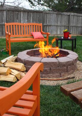 Add Fire Pit to Your Outdoor Living Space + Cook Portable Warehouse