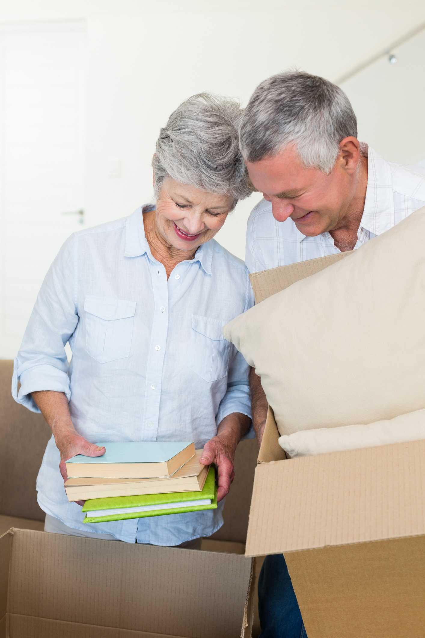Preparing your things for storage