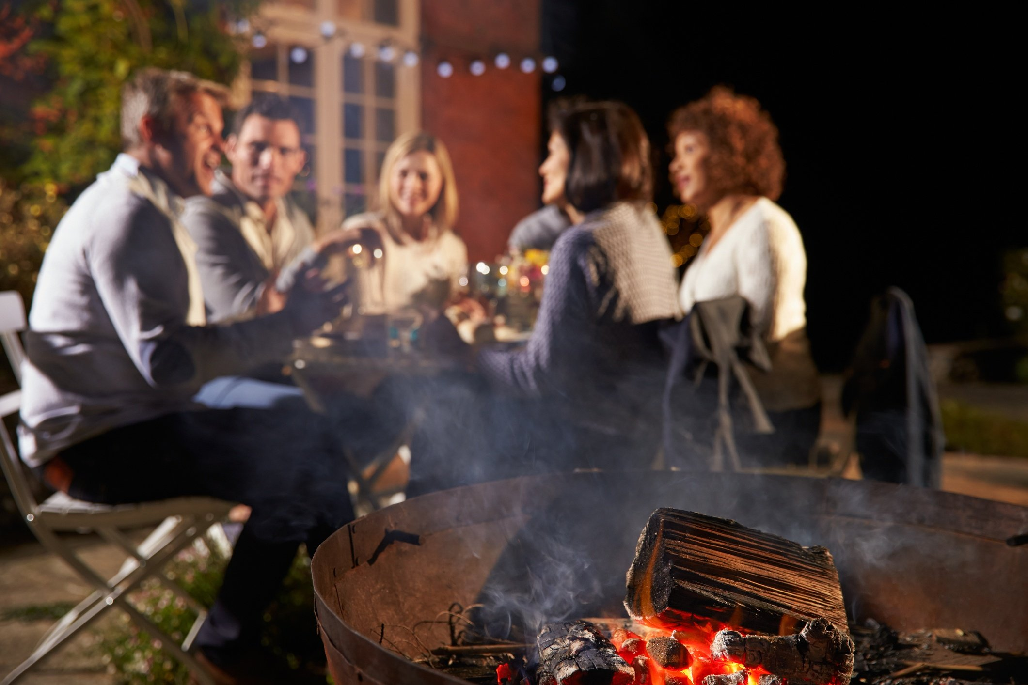 Create an Outdoor Living Room + Cook Portable Warehouses