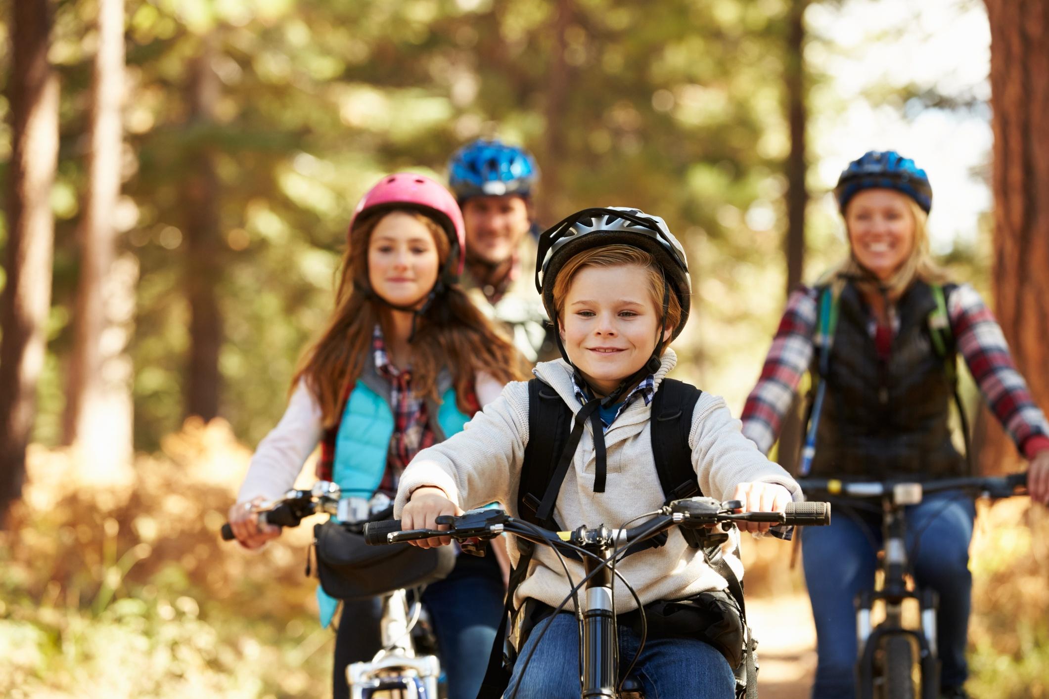Family Biking + Bicycle Storage Tips