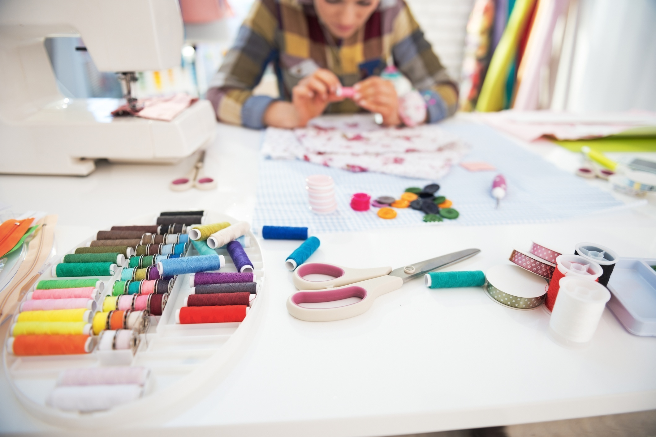 Create the Perfect Sewing or Craft Room + Cook Portable Warehouses