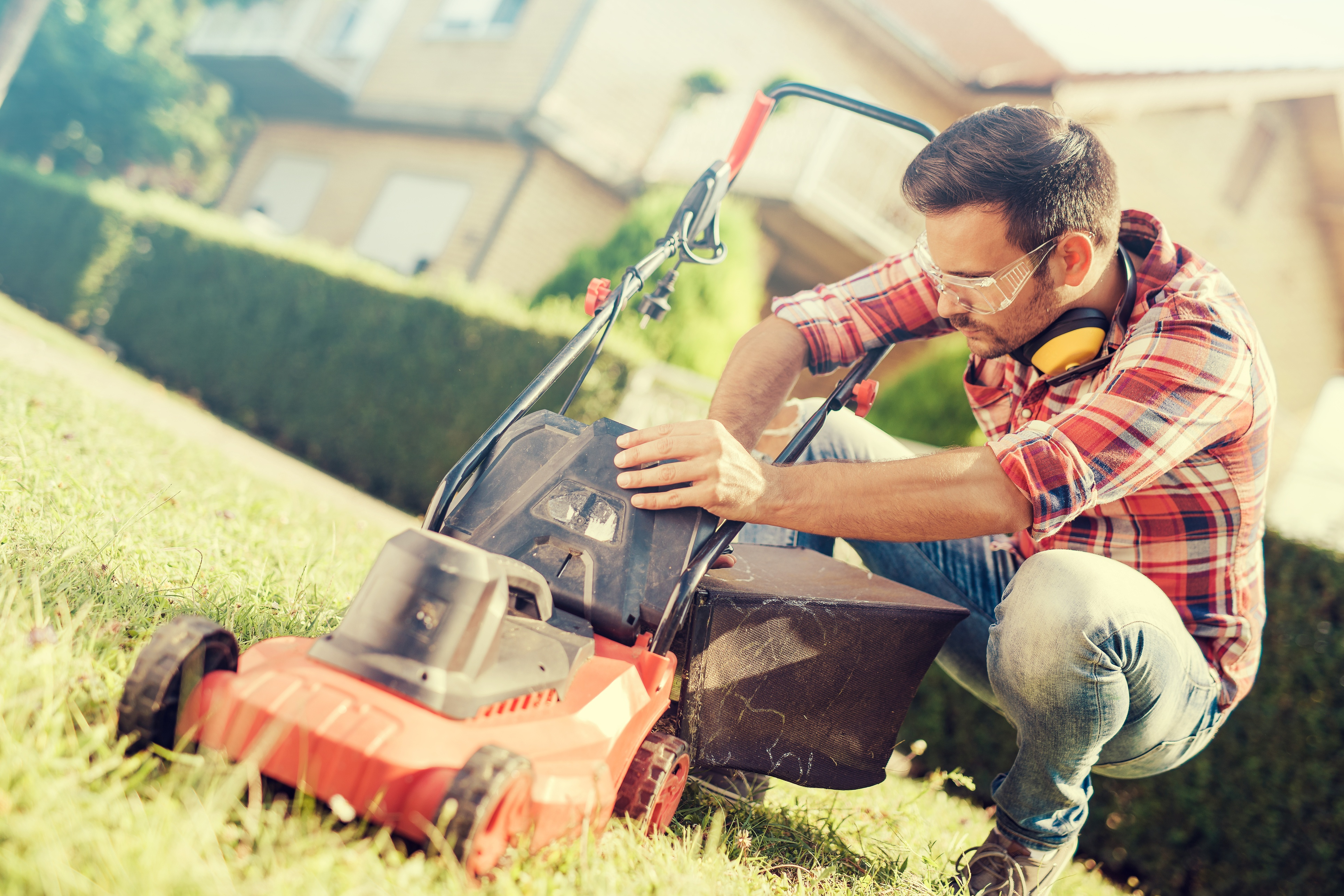 Clean Your Lawn Mower
