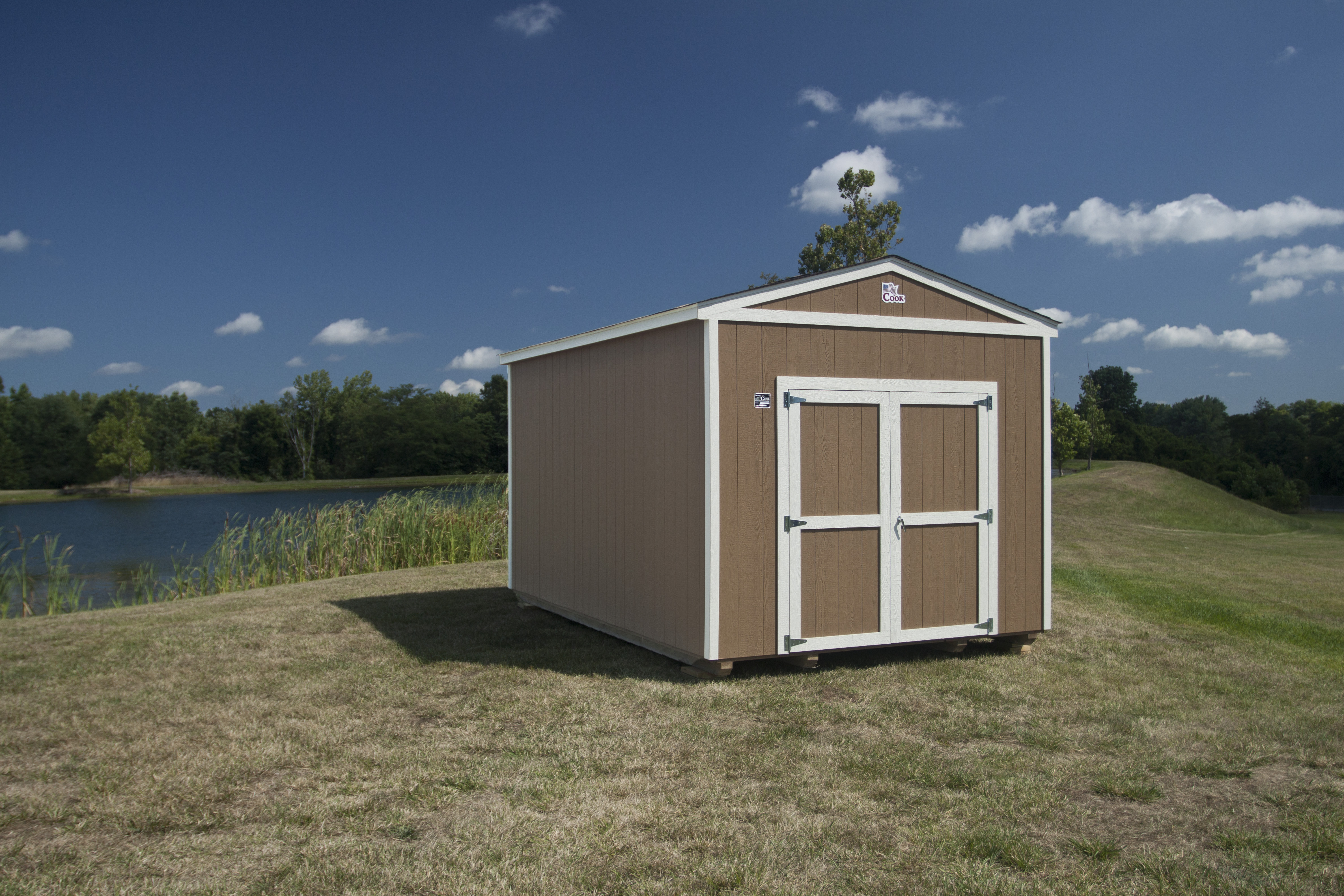 Cook Utility Building for a Man Cave + Cook Portable Warehouses