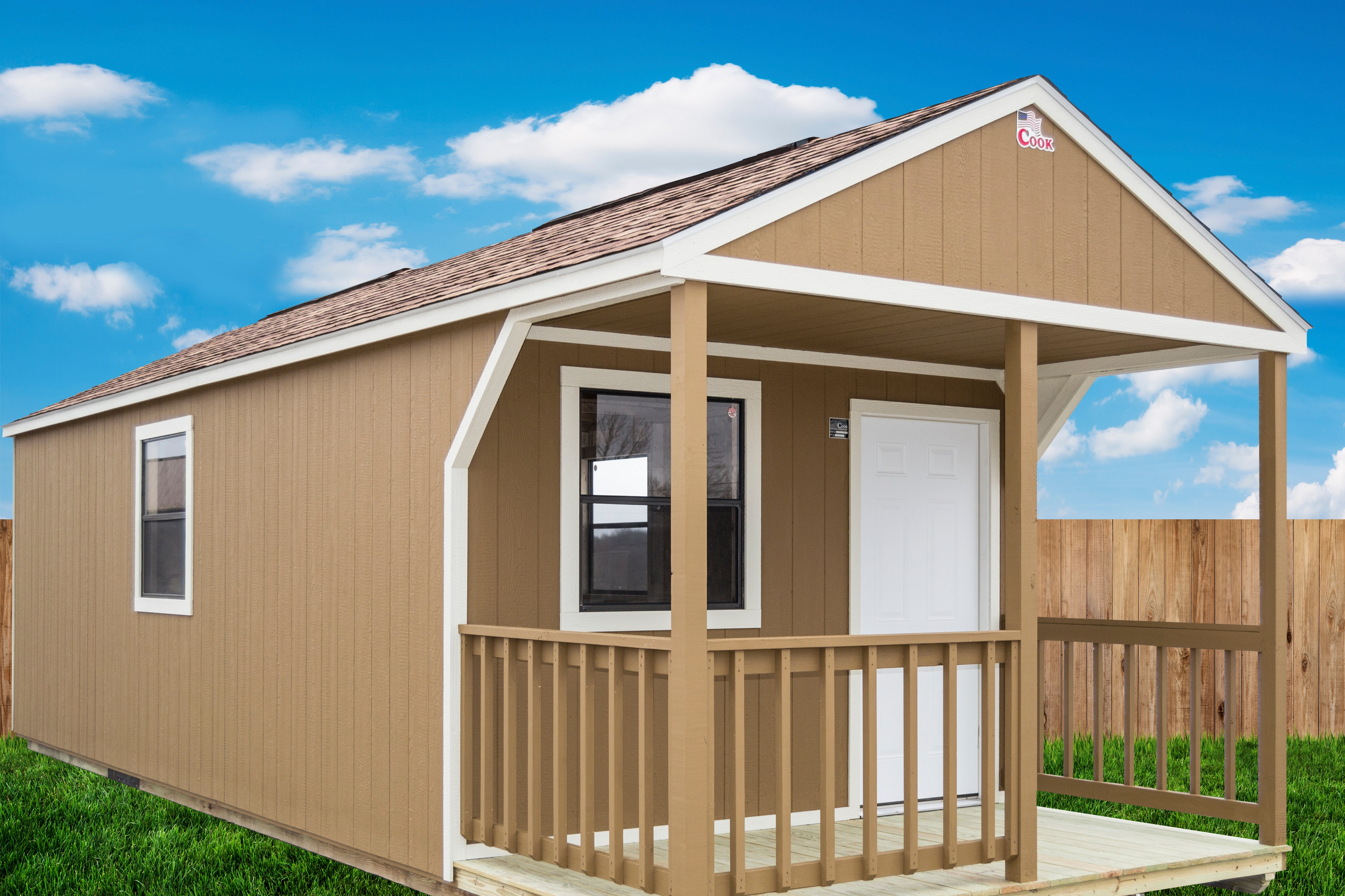 How to Convert Your Shed Into a Guest House + Cook Portable Warehouses