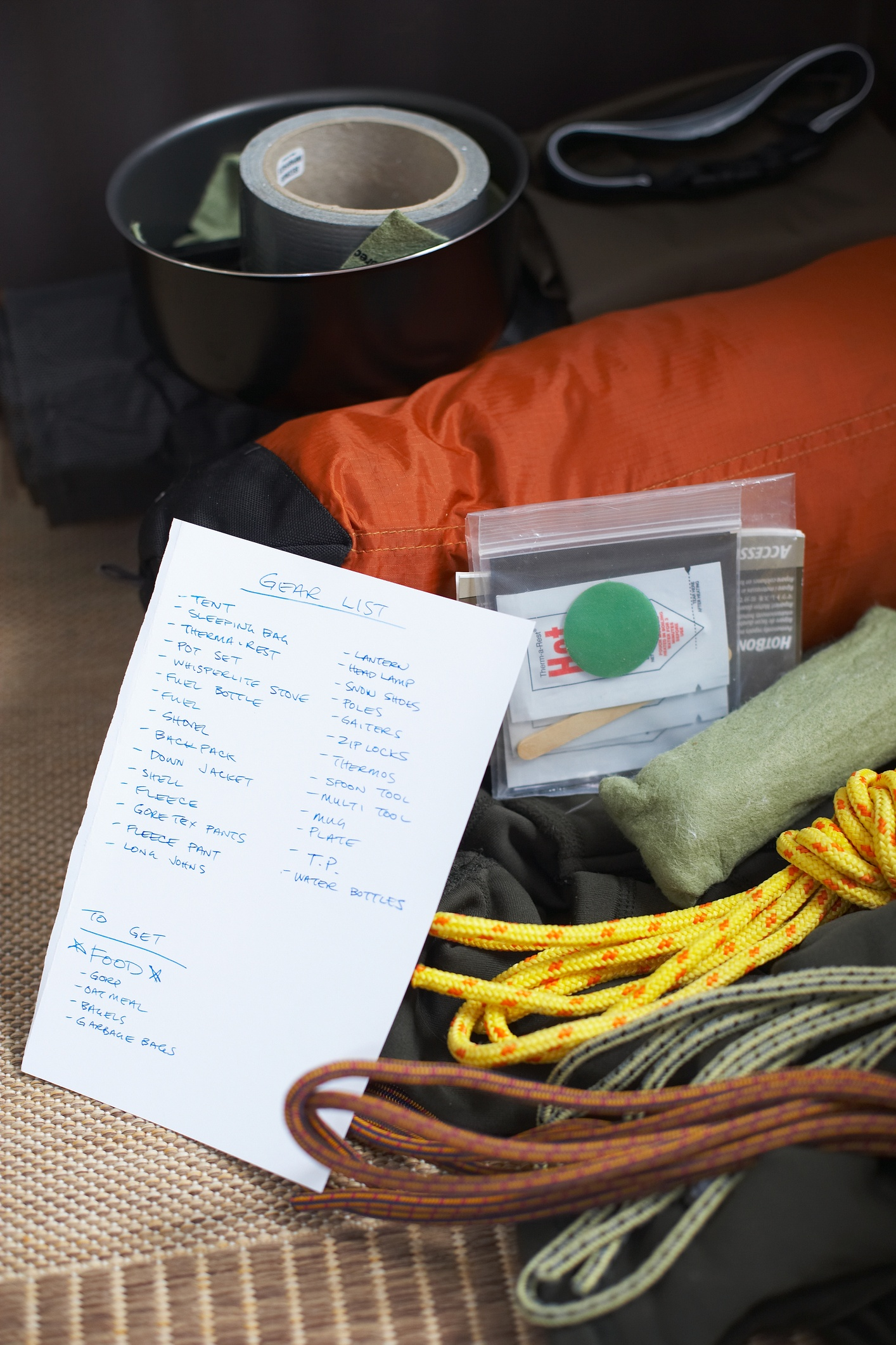 camping supplies list + Cook Portable Warehouses